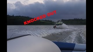 high speed tubing fail! knocked out? (4th of july party)