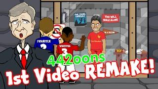 1st VIDEO REMAKE! Suarez meets Wenger: £40m+£1! (442oons 1 million subscriber special SUAREZ BITE)