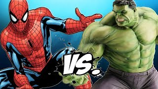 BIG HULK VS SPIDERMAN   THE INCREDIBLE HULK VS SPIDER MAN | Cartoon| New !