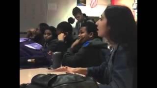 High School Student Schools Teacher on What Racism Is