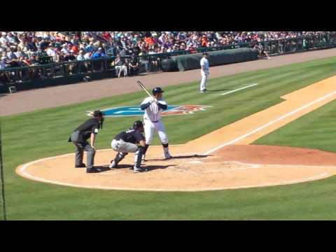 Miguel Cabrera 3 run HR vs. Yankees 3 4 16