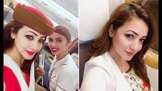 দেশ ছাড়লেন অভিনেত্রী সুজানা জাফর | BD Model Actress Suzana left country for Italia