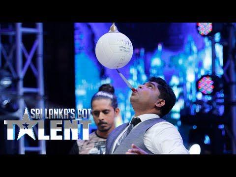 මේ වගේ සමබරවෙන්න පුලුවන්ද ? Sri Lanka's Got Talent