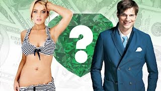 WHO'S RICHER? - Lindsay Lohan or Ashton Kutcher? - Net Worth Revealed!