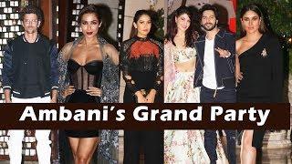 Ambani's GRAND Party 2017 Full Video HD | Hrithik Roshan, Kareena Kapoor, Varun Dhawan, Jacqueline