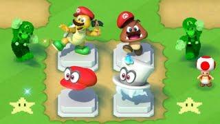 Super Mario Run - New Super Mario Odyssey Statues - Toad Rally