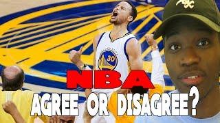 NBA AGREE OR DISAGREE?