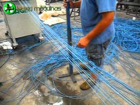 EXTRUSORA DE PLASTICO 120MM TESTES DIA 24 11 11 CLIENTE JORGE JERONIMO LESSA MAQUINAS.mpg