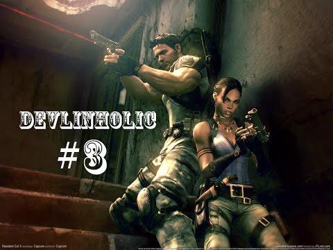 Resident Evil 5 S-Rank Walkthrough #3 Storage Facility Chapter 2-1