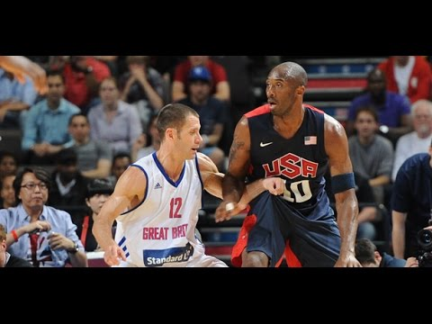 watch USA @ United Kingdom Great Britain 2012 London Olympics Men's Basketball Exhibition HD 720p