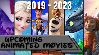 Upcoming Animated Movies 2019-2023