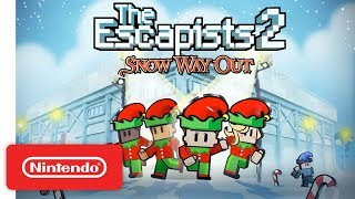 The Escapists 2 - Snow Way Out Trailer - Nintendo Switch