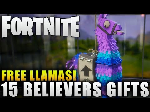 Xxx Mp4 Fortnite News 15 Free Believer Gift Llamas Free Upgrade Llamas In Fortnite Early Acess 3gp Sex