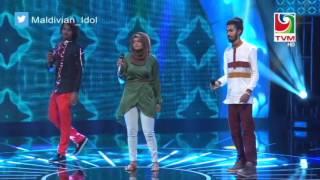 Maldivian Idol Gala Round | Beynunveema Bindheleveytho by Ishan,Nazeeh and Azleema