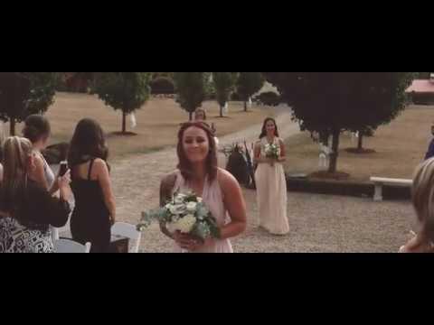 Our Boho/Vintage Wedding! So emotional when groom cries!!!