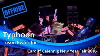 Typhoon - Tuson Evans Jnr (Offride) @ Cardiff Calennig New Year Fair 2016