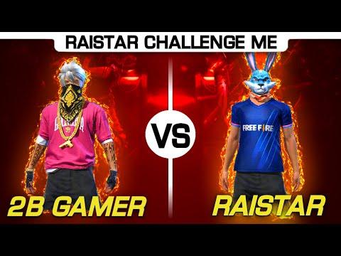 Raistar Challenge 2B Gamer 1 VS 1😞😞Sorry Unexpected Result Garena Freefire