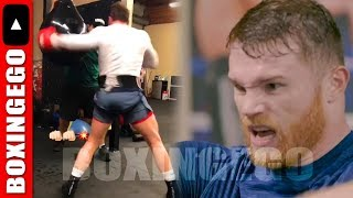 DAMN!!! CANELO POLISHING LEFT HOOK TO END GENNADY GOLOVKIN'S UNDEFEATED REIGN