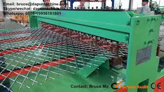 Razor welded mesh machine, Razor wire mesh welded machine, Razor wire fence welding machine