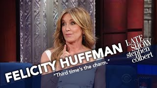 Felicity Huffman Married William H. Macy (After He Asked A Third Time)