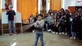 ZAKY AT SCHOOL staff/spear