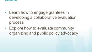 2017 GEO Member Call: Co-Creating An Evalutaion Process With Nonprofits