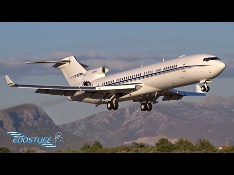 RARE & AMAZING! - VIP BOEING 727 Landing at Split Airport LDSP/SPU