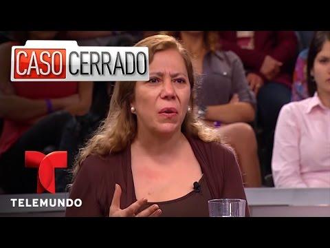Una pareja de lesbianas se separa ¿Quién se queda con el hijo Caso Cerrado Telemundo
