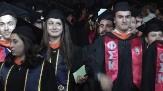 Stevens Institute of Technology:  2017 Undergraduate Commencement Ceremony