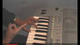 Cara TERMUDAH membentuk CHORD di  Keyboard-Belajar Orgen Asal happy