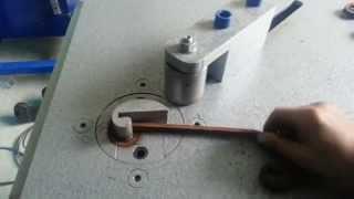 scroll bending machine new version