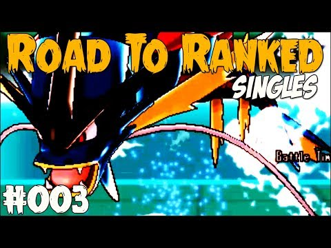Pokemon X and Y Wifi Battle - Road To Ranked #003 - What A Way To Return!