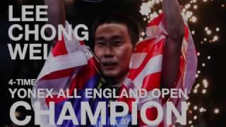 Lee Chong Wei: 2017 Yonex All England Open Champion