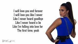 Never Been Hurt - Demi Lovato (Lyrics)