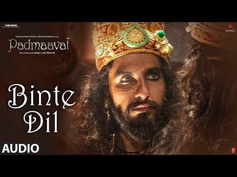 Xxx Mp4 Padmaavat Binte Dil Audio Arijit Singh Deepika Padukone Shahid Kapoor Ranveer Singh 3gp Sex