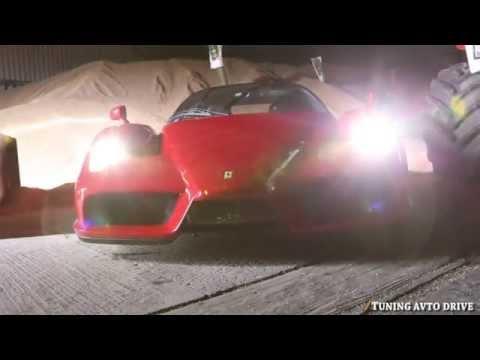 The Ferrari Enzo WRC .