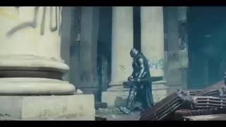 Batman v Superman batsignal scenc