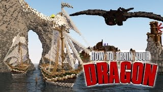 Minecraft   How To Train Your Dragon Ep 3!
