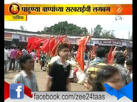 Nashik | Market Full Of Ganpati Decoration