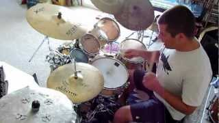 Rock Drum Lesson - Two Handed 16ths on Hi Hat - RyMo