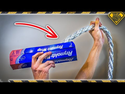 Can You Make a Rope with Aluminum Foil