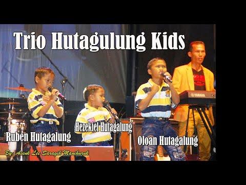 Trio Hutagalung Kids di Pesta Bona Tahun Damanik Jambi