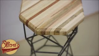 The Re-BAR stool  ( from pallets and rebar )