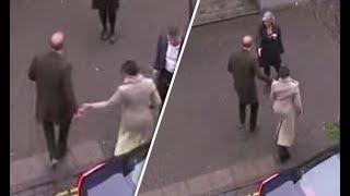 Does Prince Harry push away Meghan Markle