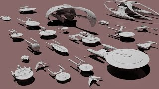 Starships size comparison (Star Trek)