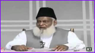 Dr. Israr Ahmed speaking of Imam Husain
