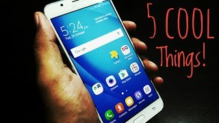 5 cool things to do with Samsung Galaxy J7 2016!