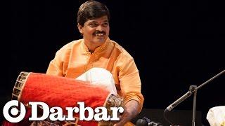 VV Ramanamurthy and G Guruprasanna at Darbar Festival 2014, Tani Avartanam