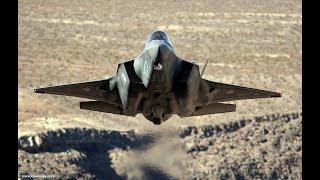 F-35  Lightning   -  Death Valley (4k)
