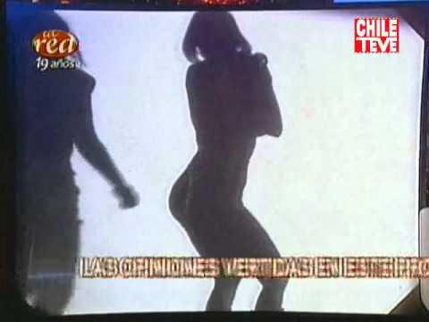 Así Somos el striptease de Andrea Dellacasa y Javiera Acevedo